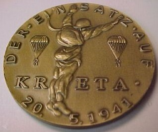 Kreta  Medal  info  requested