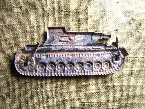 Tank destroyer badge