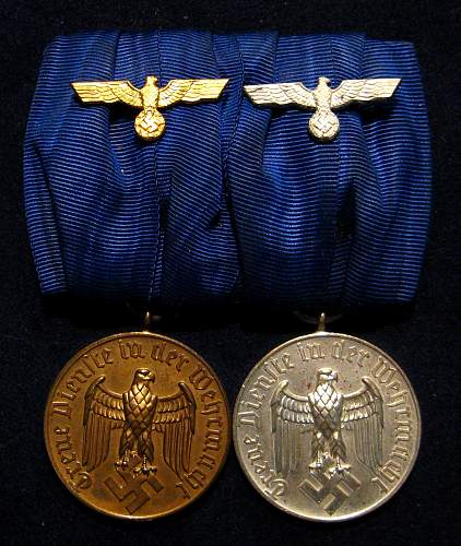 just bought this heer long service medal bar what do you guys think?