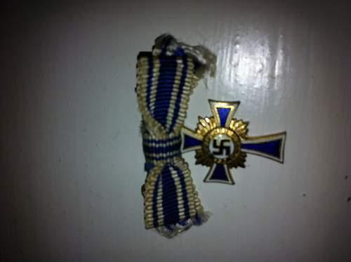 Boxed mini Mutter Kreuz
