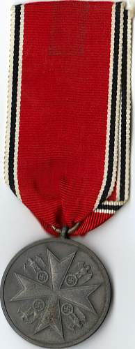 Click image for larger version.  Name:Order of the German Eagle - Medal of Merit 2nd class FRONT.jpg Views:657 Size:80.2 KB ID:58575