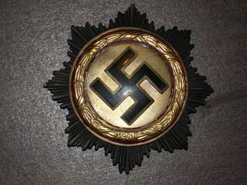 Deutsches Kreuz in Gold mit Brillanten sold!!!!!