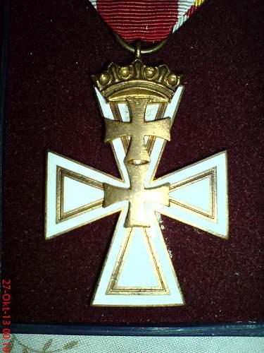 Danziger Kreuz, 2nd class
