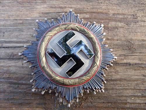 Deutsches Kreuz in Gold by Deschler?