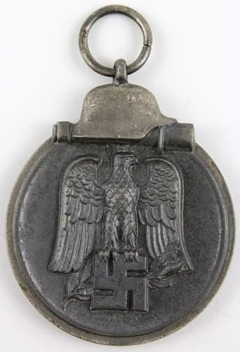 'winterschlacht im osten' medal, genuine or not.