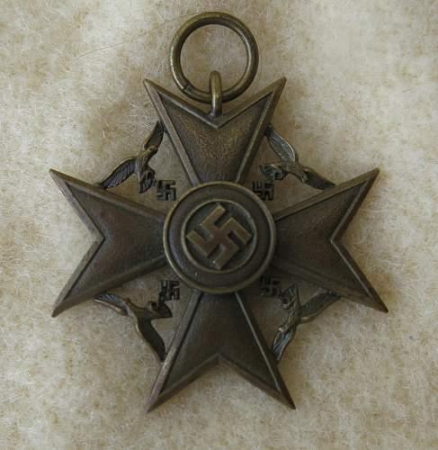 Rare Spanish Cross N.O.K. in its case