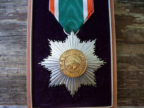 Azad Hind Order of the Hero without Swords