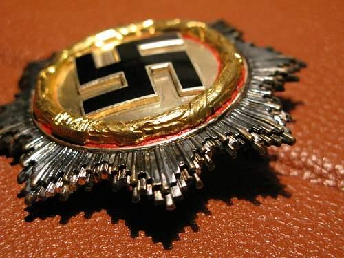 Deutsches Kreuz in Gold Hersteller 20