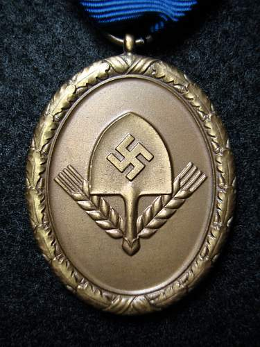 RAD 4 Years Long Service Medal