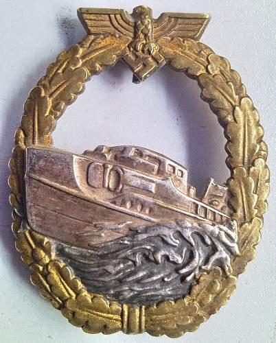 Schnellboot, 1. Form
