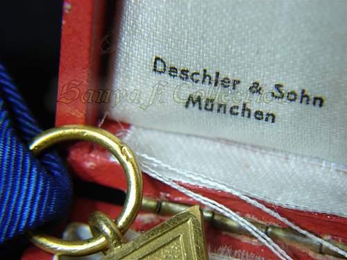 Treue Dienst Ehrenzeichen, 40 Jahre - opinion please