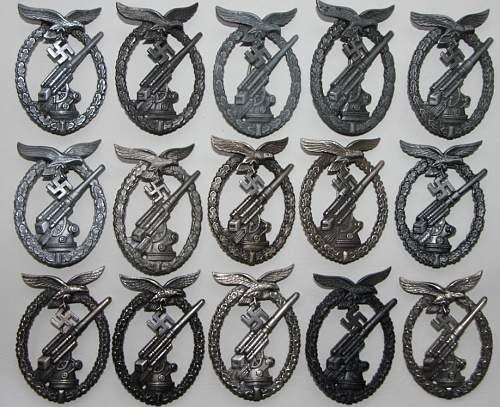 Some Luft badges