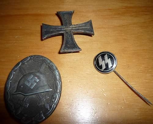 badges and pin