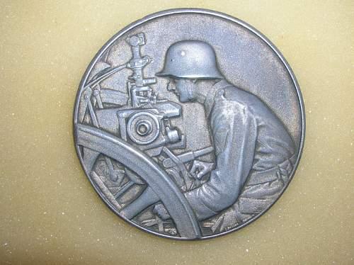 Gunnery Medallion