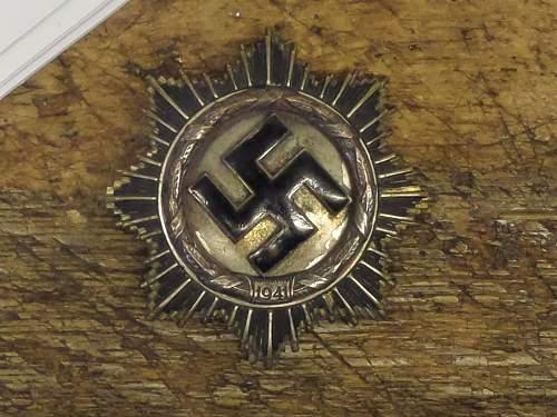 Deutsche kreuz in silver