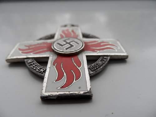 Reichsfeuerwehr-ehrenzeichen 2.Stufe