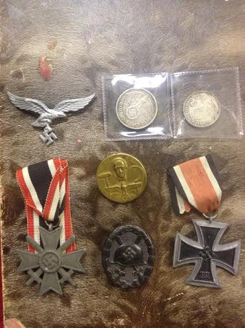 Iron Cross & other misc badges