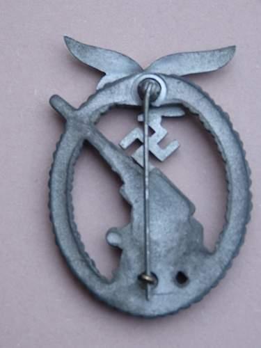 Mid -war Flakkampfabzeichen der Luftwaffe