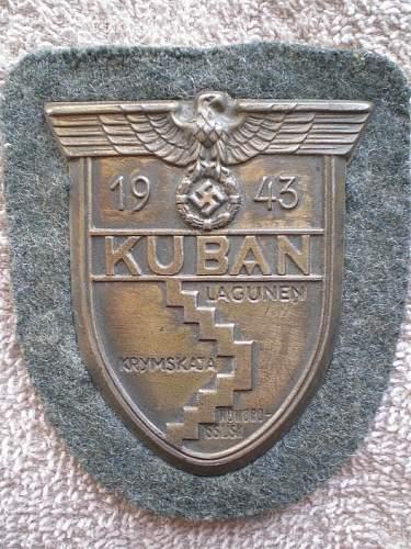 Kuban shield.