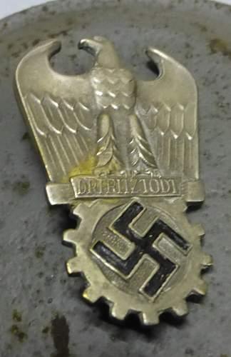 Dr Fritz Todt pin