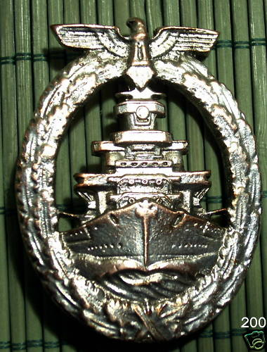 Flottenkriegsabzeichen/High sea fleet badge