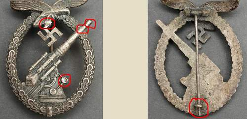 Click image for larger version.  Name:assmann fake cast badge with catch repair.jpg Views:224 Size:71.8 KB ID:621266
