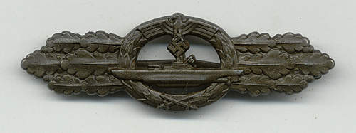 U-boot Frontspange