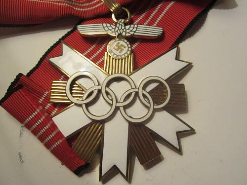 1.st Class Olympia Badge 1936