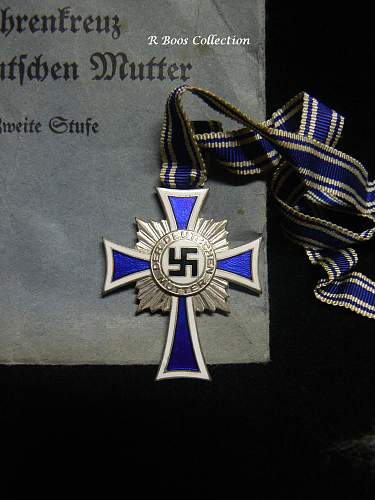 Ehrenkreuz der Deutsche Mutter Zweite Stufe - Share