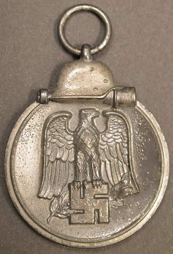"""Medaille """"Winterschlacht im Osten 1941/42"""" (Ostmedaille) - Hans Dieren"""