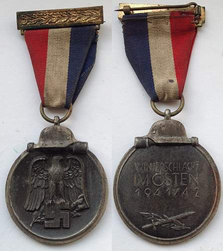 Winterschlacht medal