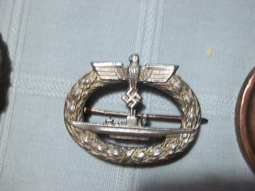 U-Boot Kriegsabzeichen - Original or Fake?