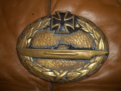 Mysterious U Boat badge