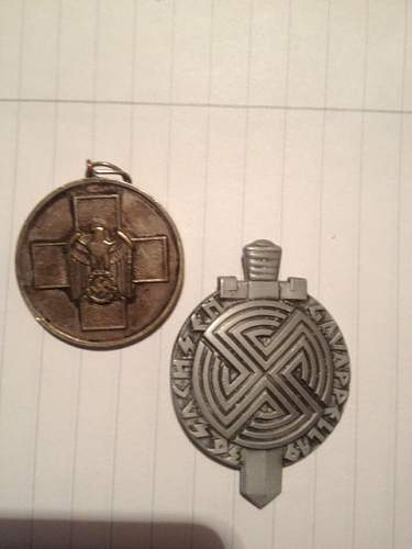 Medal lot found fakes or real?