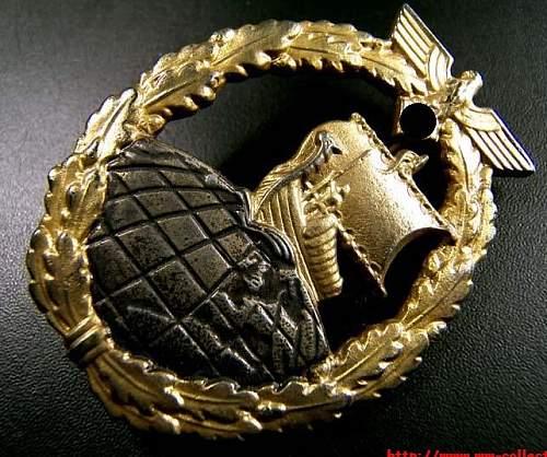 Kriegsabzeichen fur Hilfskreuzer
