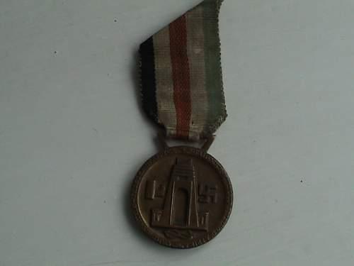 italian/german medal