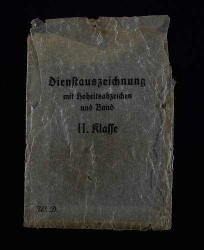 Dienstauszeichnung der Wehrmacht 2. Klasse, 18 Jahre.
