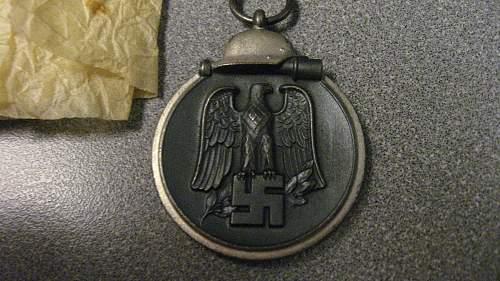 ostmedaille ,,110,,  Otto Bappe Gablonz a.d.N.