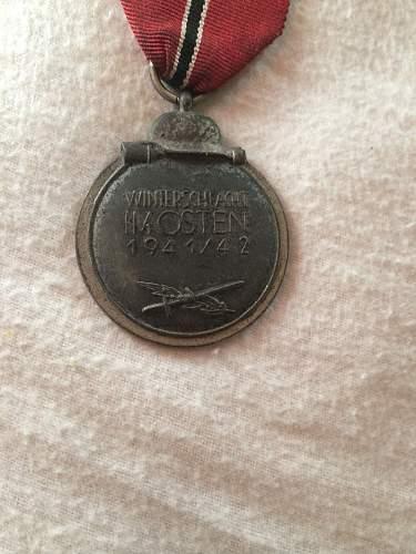 Winterschlacht Im Osten medaille
