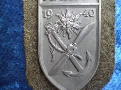 Fake or good Narvikschild??