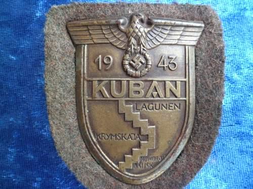 Fake or good Kubanschild??