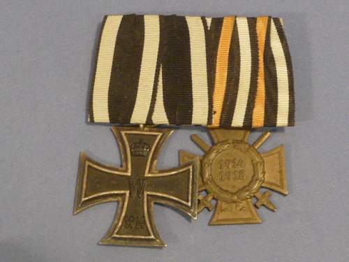 Click image for larger version.  Name:Iron Cross 2nd Class-Honor Cross for Frontline Soldiers.jpg Views:105 Size:172.4 KB ID:666350
