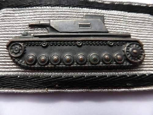Panzervernichtungsabzeichen in Silber
