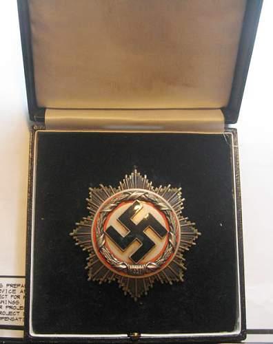 Deutsches Kreuz in Silber: genuine ?