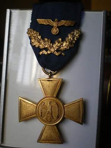 Wehrmacht Heer Dienstauszeichnung 25 Jahre