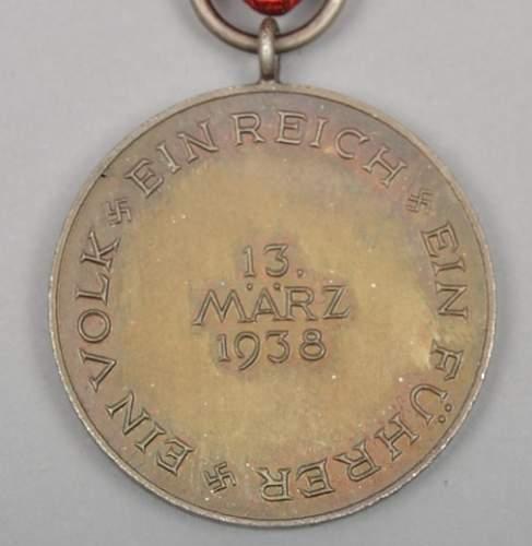 Click image for larger version.  Name:Medaille zur Erinnerung an den 13. März 1938 (3).jpg Views:48 Size:171.0 KB ID:670188