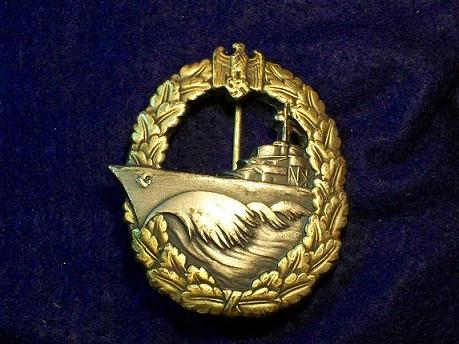 opinions welcomed on this destroyer badge