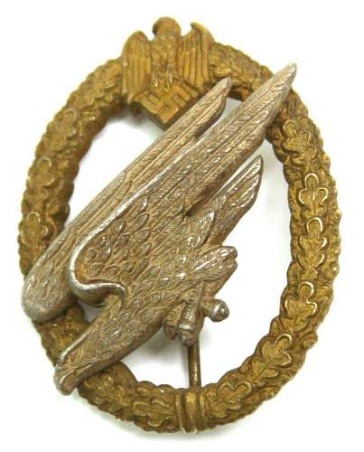 Army Paratrooper badge,,Good or Bad???