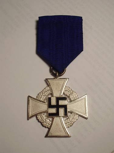 Treudienst Ehrenzeichen - 25 Yahre