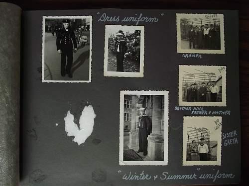 Kreigsmarine badges and photos